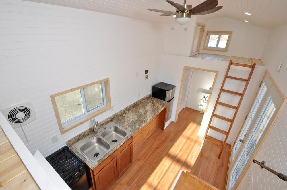 Kitchen & Storage Loft - Croft by Tiny House Building Company
