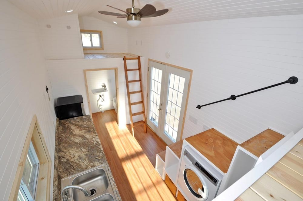 Double French Doors - Croft by Tiny House Building Company