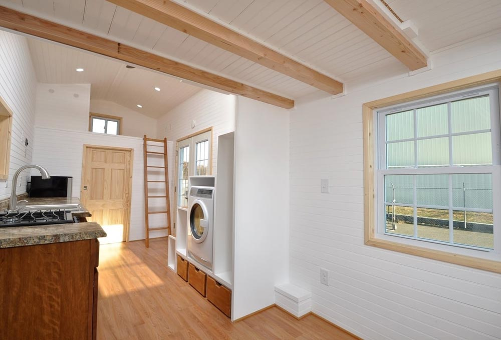 Living Room - Croft by Tiny House Building Company