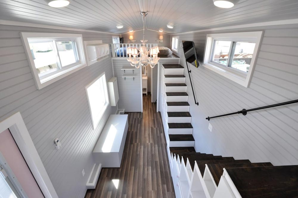 Custom Chandelier - Getaway by Tiny House Building Company