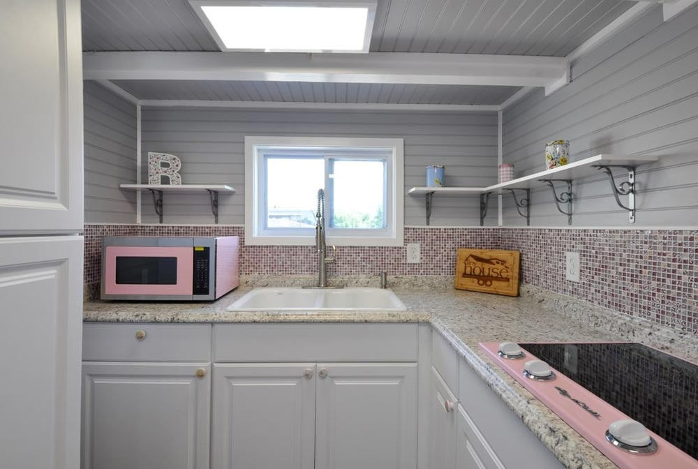 Granite Counters - Getaway by Tiny House Building Company