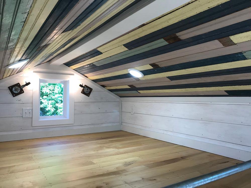 Bedroom Loft - Homestead by Rafter B Tiny Homes