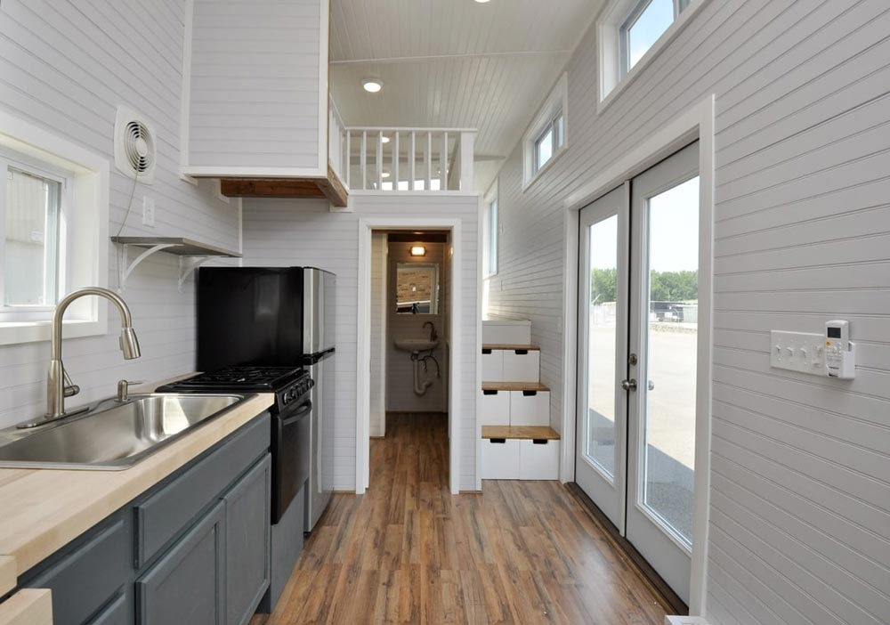 Double French Doors - Inglewood by Tiny House Building Company