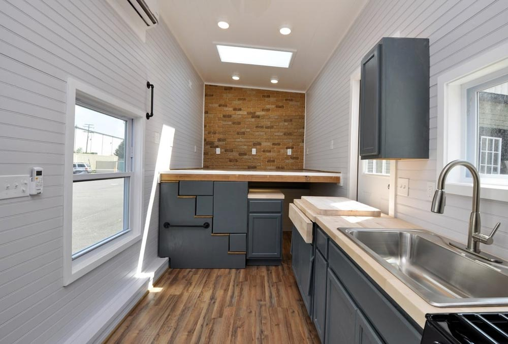 Kitchen & Living Room - Inglewood by Tiny House Building Company