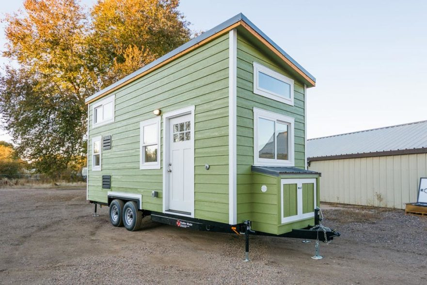 Kailey's 22' Off-Grid Tiny House by Mitchcraft Tiny Homes