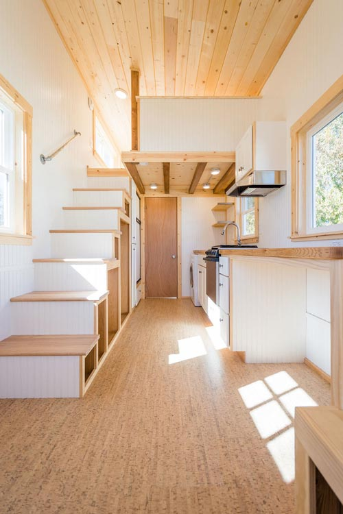 Interior View - Kailey's 22' Off-Grid Tiny House by Mitchcraft Tiny Homes