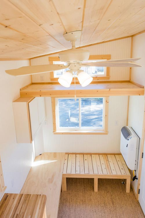 Guest Loft - Kailey's 22' Off-Grid Tiny House by Mitchcraft Tiny Homes