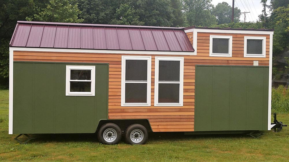 Exterior View - Kingfisher by Blue Sky Tiny Homes