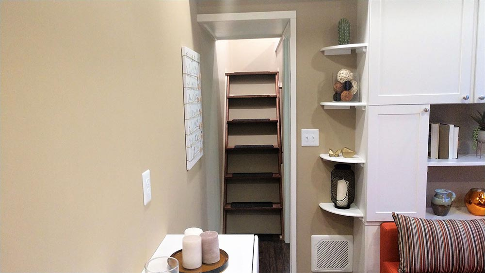Loft Stairs - Kingfisher by Blue Sky Tiny Homes