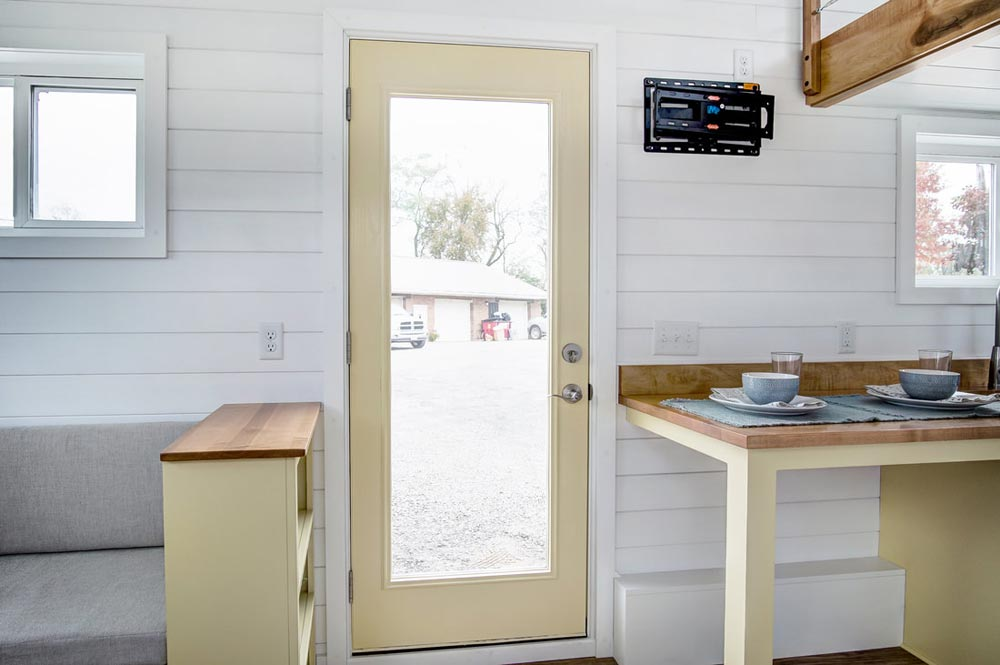 Full Light Front Door - Kitty Hawk by Modern Tiny Living