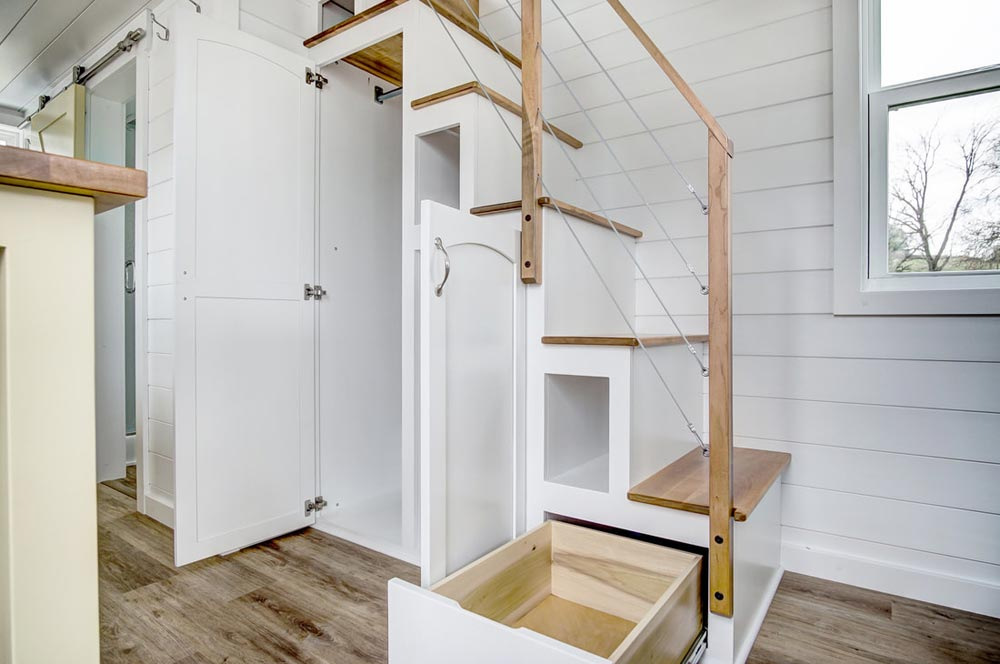Storage Stairs - Kitty Hawk by Modern Tiny Living