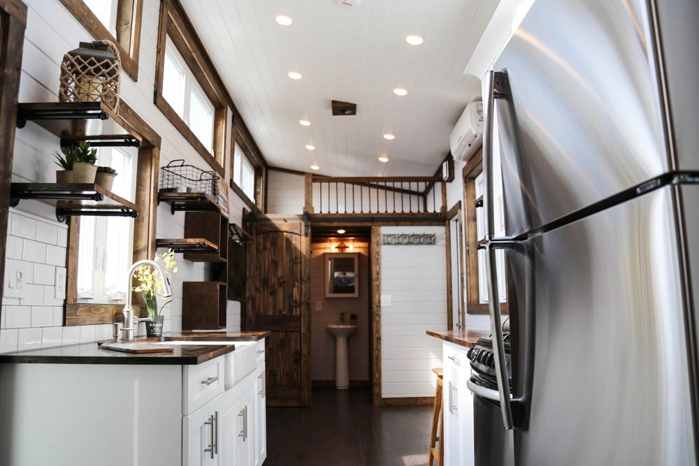 Custom Cabinetry - Mini Mansion by Tiny House Chattanooga