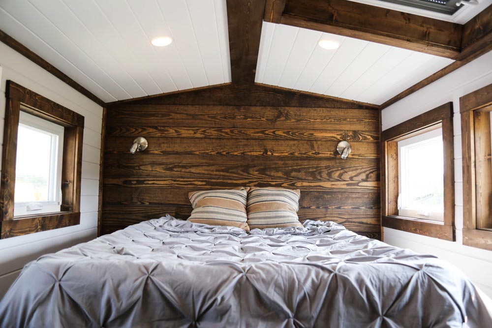 Accent Wall - Mini Mansion by Tiny House Chattanooga