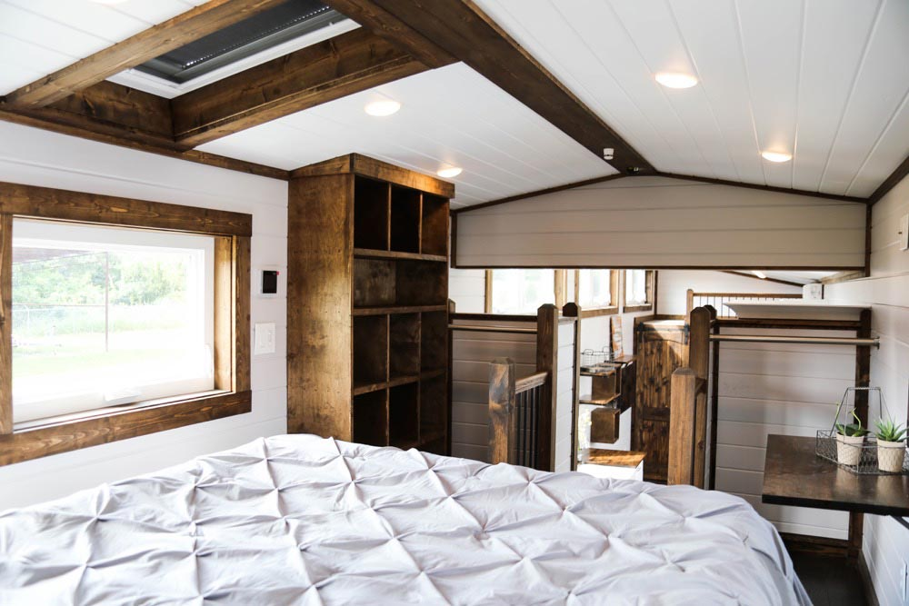 Master Bedroom - Mini Mansion by Tiny House Chattanooga