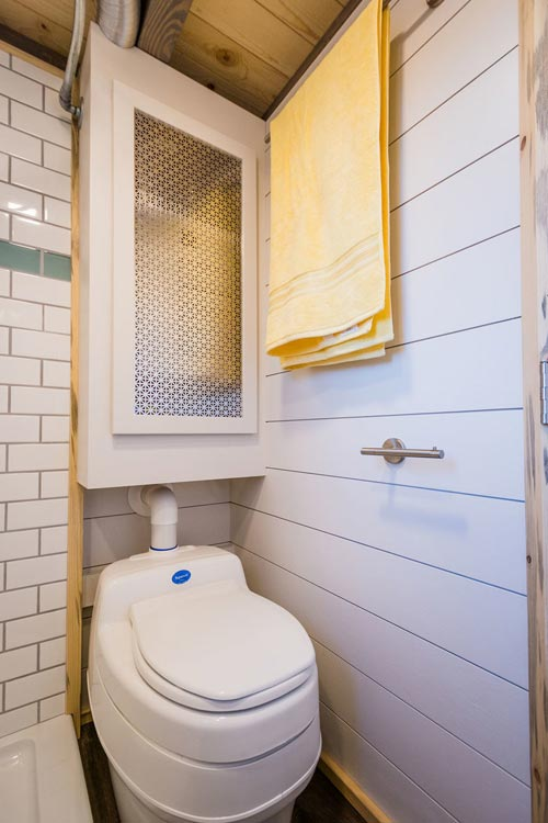 Composting Toilet - 20' Tiny House by MitchCraft Tiny Homes