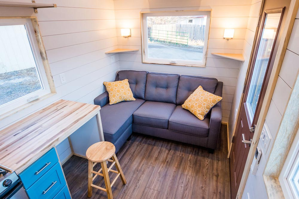 Living Room - 20' Tiny House by MitchCraft Tiny Homes
