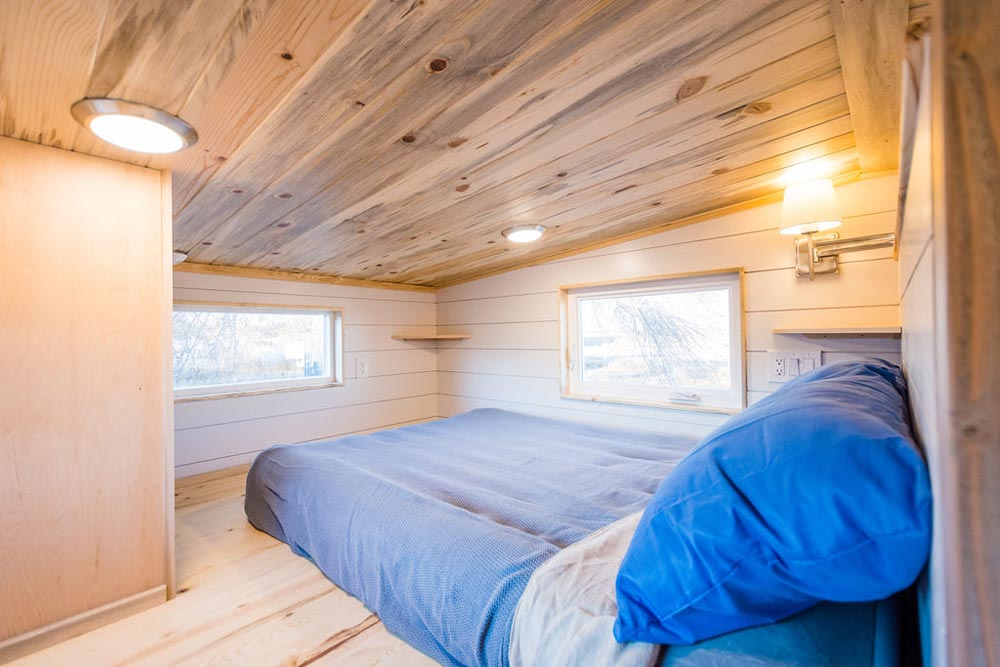 Bedroom Loft - 20' Tiny House by MitchCraft Tiny Homes
