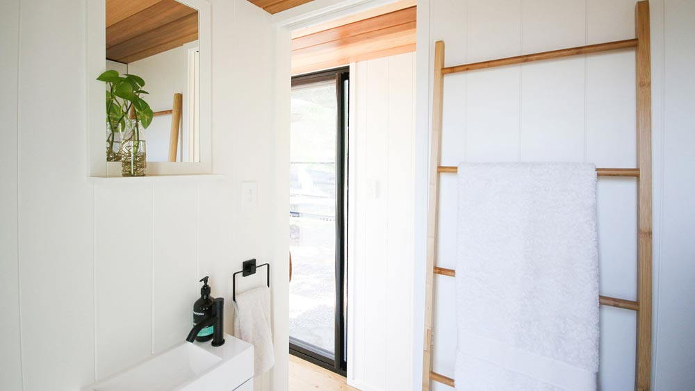 Towel Rack - Mooloolaba 7.2 by Aussie Tiny Houses