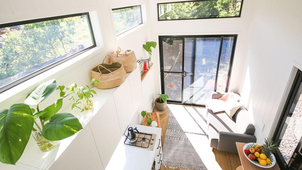 Living Area - Mooloolaba 7.2 by Aussie Tiny Houses