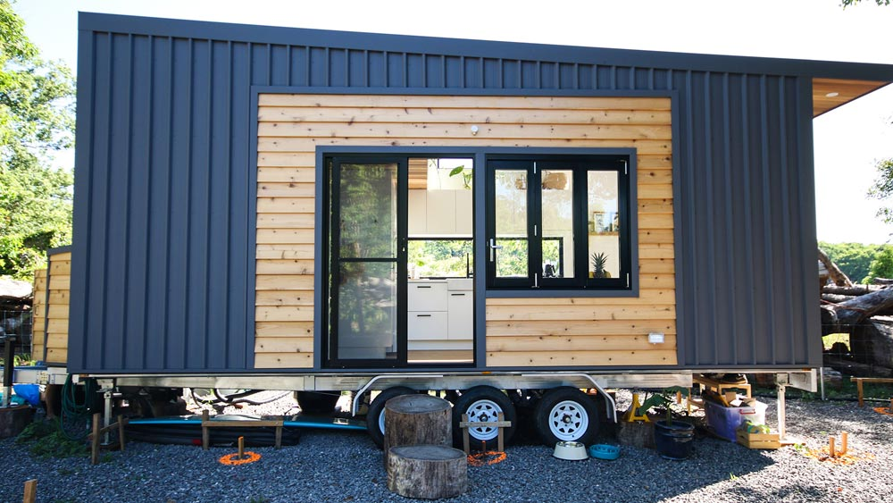 Metal/Wood Exterior - Mooloolaba 7.2 by Aussie Tiny Houses