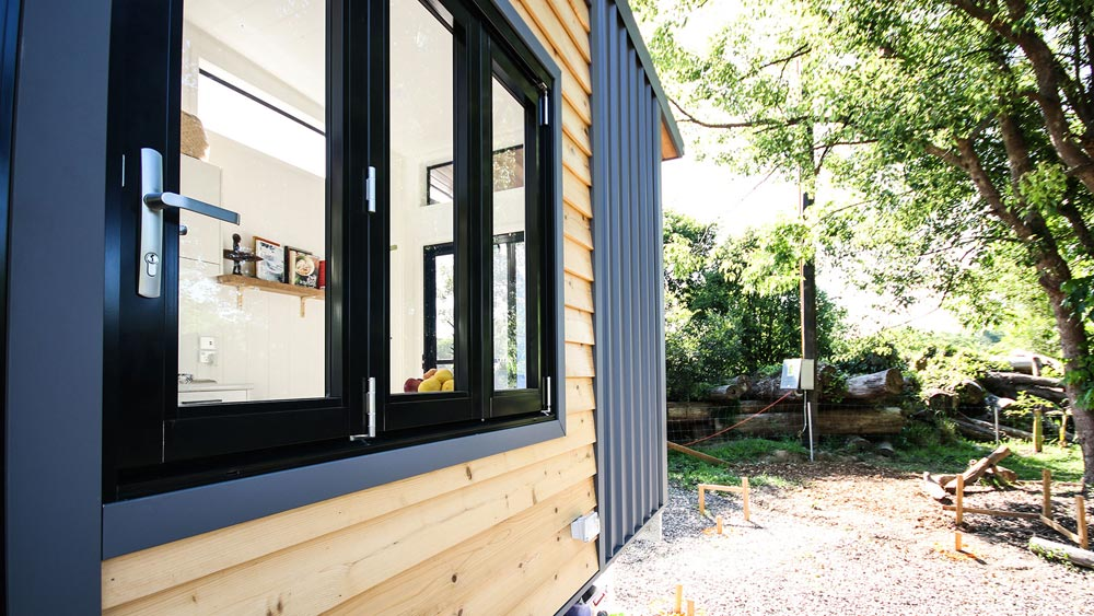 Bi-Fold Window - Mooloolaba 7.2 by Aussie Tiny Houses