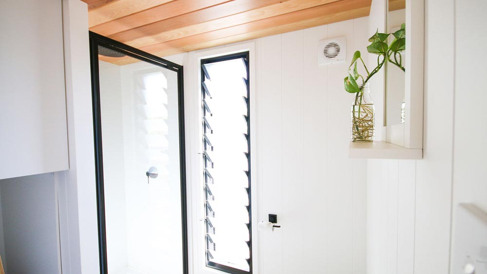 Louvre Window - Mooloolaba 7.2 by Aussie Tiny Houses
