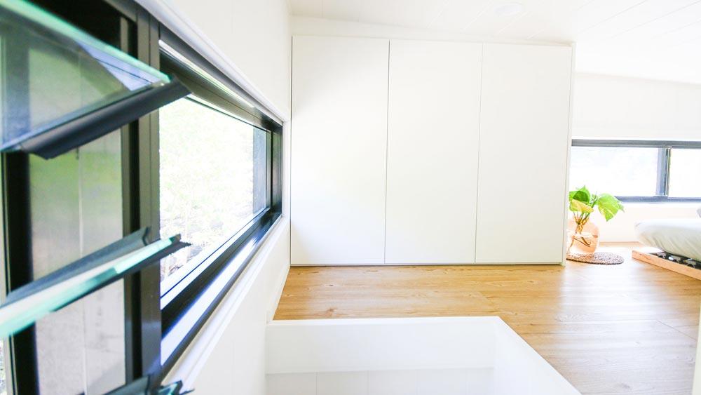 Loft Storage - Mooloolaba 7.2 by Aussie Tiny Houses