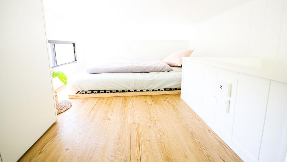 Queen Bedroom Loft - Mooloolaba 7.2 by Aussie Tiny Houses
