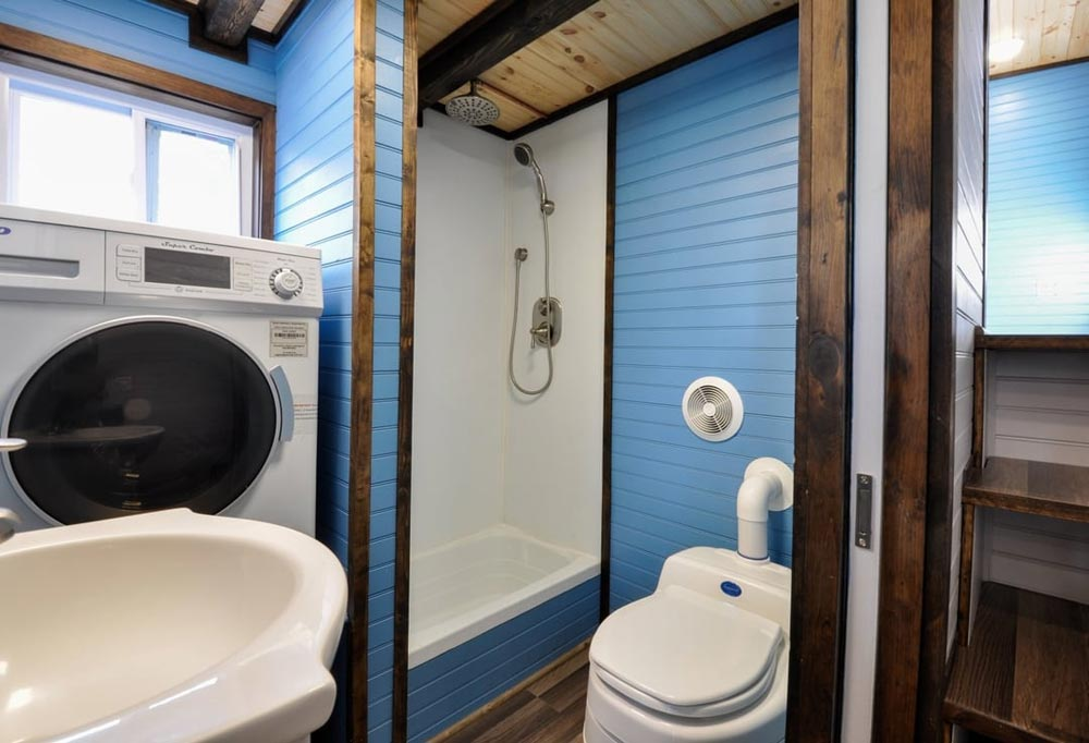 Bathroom - Mulberry by Tiny House Building Company