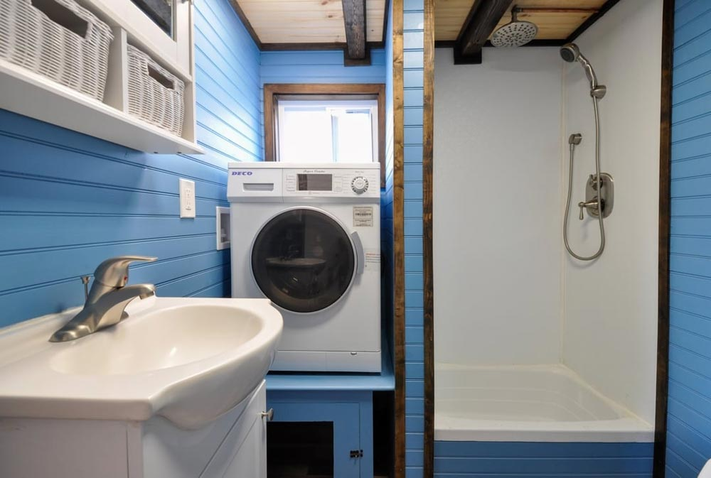 Sink & Washer/Dryer Combo - Mulberry by Tiny House Building Company