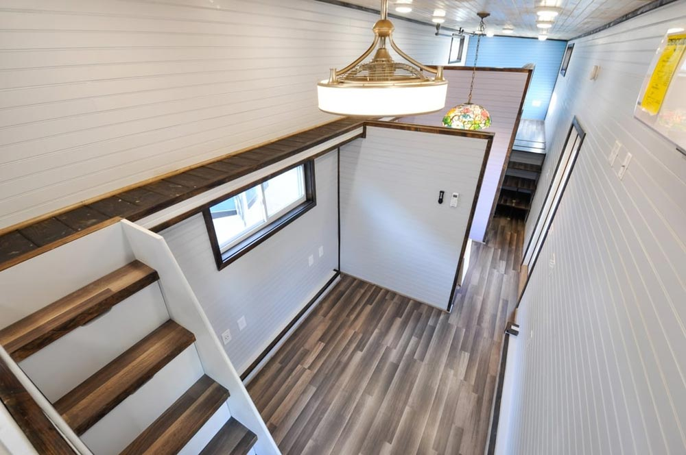 Stairs & Catwalk - Mulberry by Tiny House Building Company