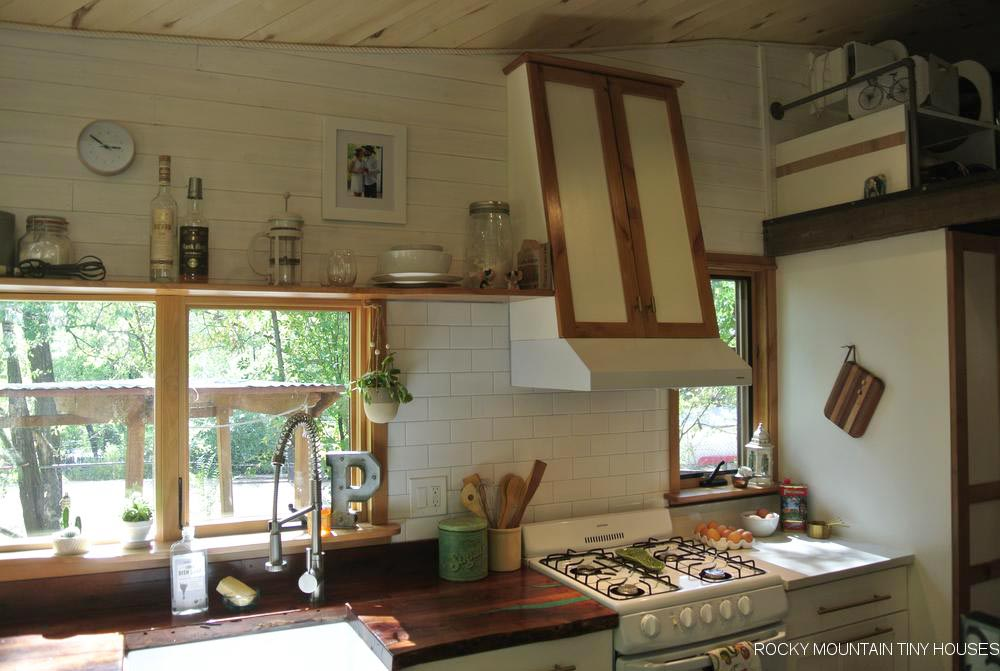 Kitchen - San Juan by Rocky Mountain Tiny Houses