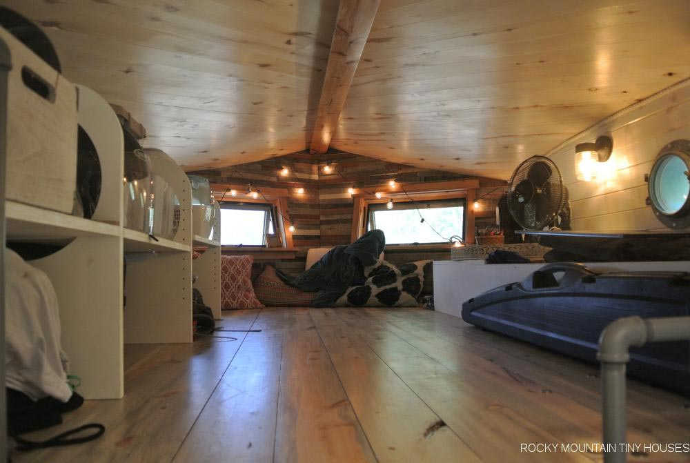 Bedroom Loft - San Juan by Rocky Mountain Tiny Houses