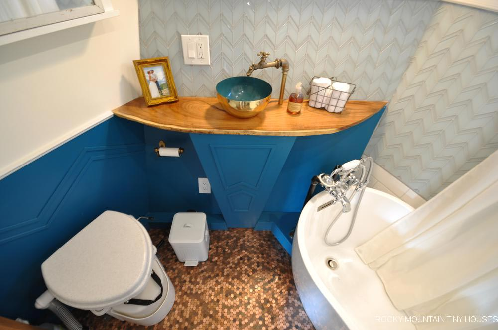 Bathroom Sink - San Juan by Rocky Mountain Tiny Houses