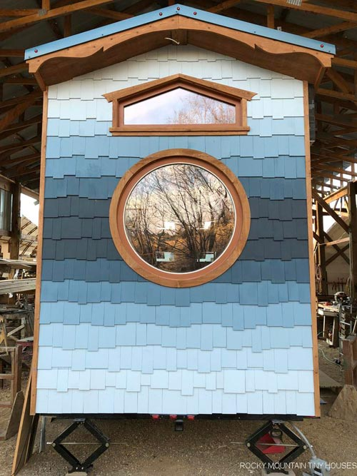 Gradient Siding - San Juan by Rocky Mountain Tiny Houses