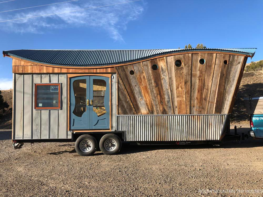 Reclaimed Barn Wood Siding - San Juan by Rocky Mountain Tiny Houses