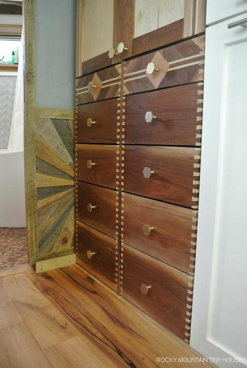 Dovetail Drawers - San Juan by Rocky Mountain Tiny Houses