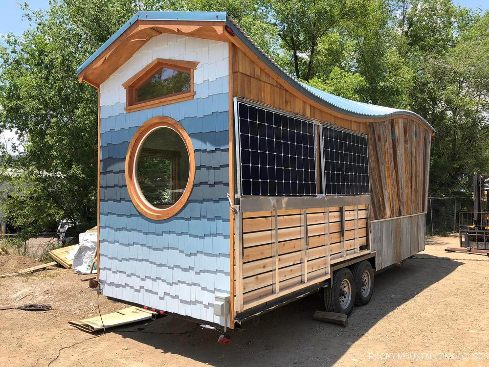 Solar Panels - San Juan by Rocky Mountain Tiny Houses