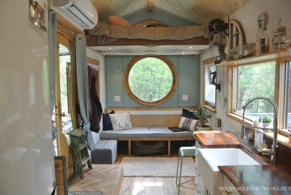 Living Room - San Juan by Rocky Mountain Tiny Houses