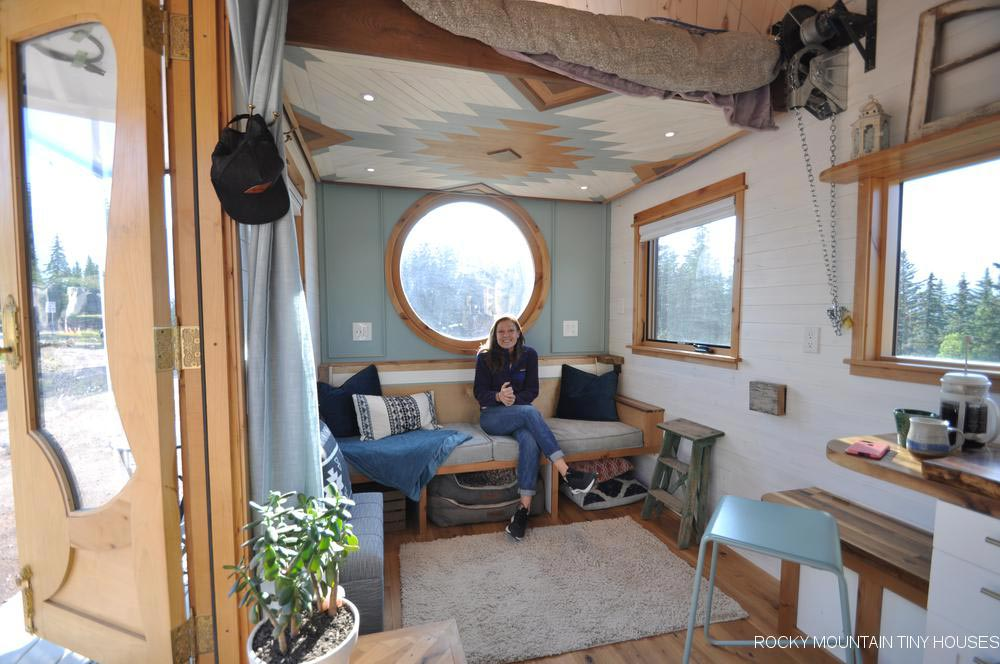 Port Window - San Juan by Rocky Mountain Tiny Houses