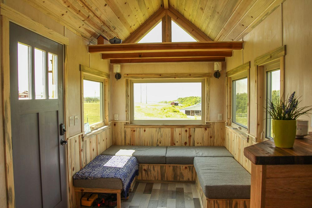 Living Room - Tiny Om by SimBLISSity Tiny Homes