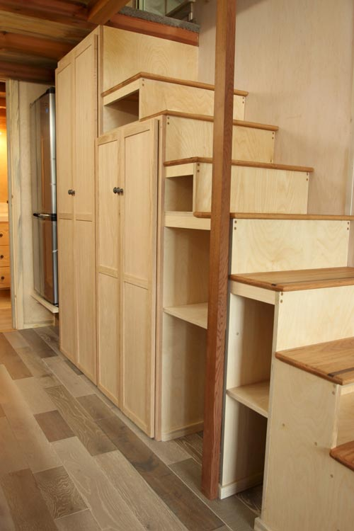 Storage Stairs - Tiny Om by SimBLISSity Tiny Homes