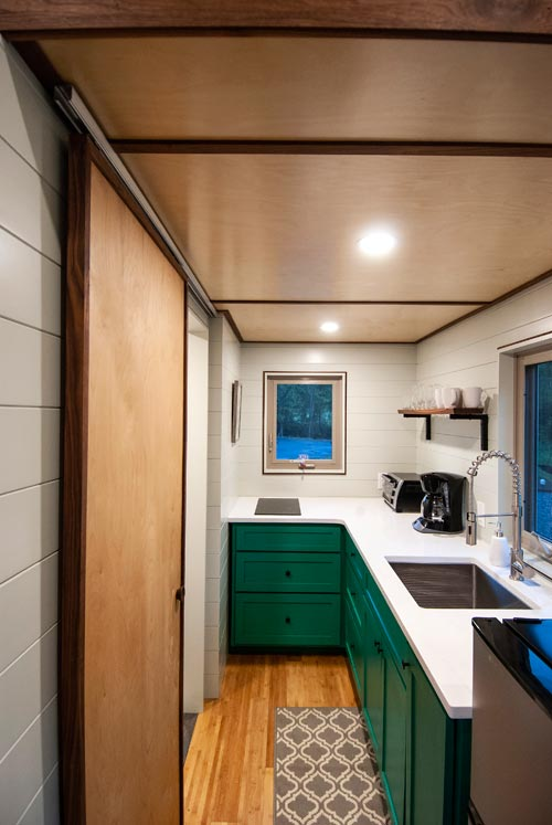 Custom Kitchen Cabinets - Balsam by Red Crown Tiny Homes