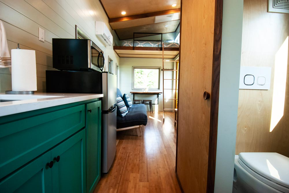 Kitchen & Bathroom - Balsam by Red Crown Tiny Homes