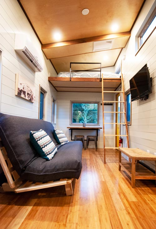 Living Room & Loft - Balsam by Red Crown Tiny Homes