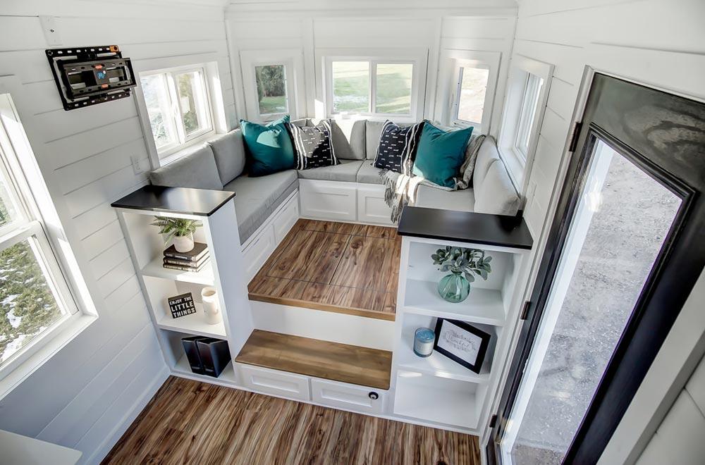 Raised Living Room - Braxton by Modern Tiny Living