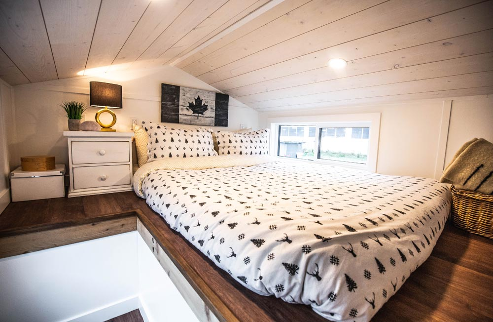 Bedroom Loft - Coastal Escape by Sunshine Tiny Homes