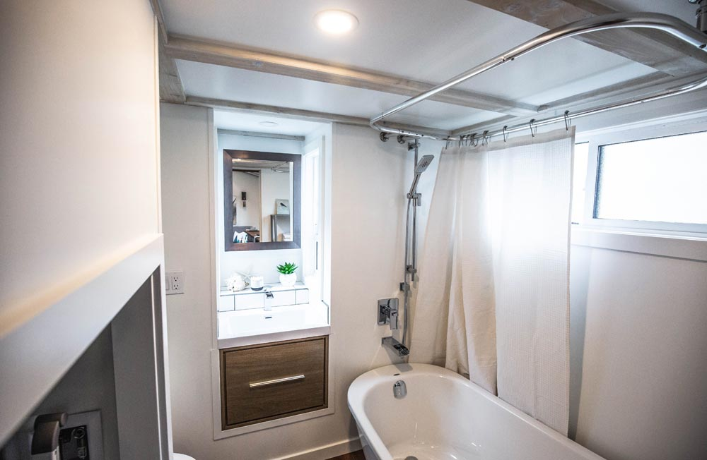 Bathroom - Coastal Escape by Sunshine Tiny Homes