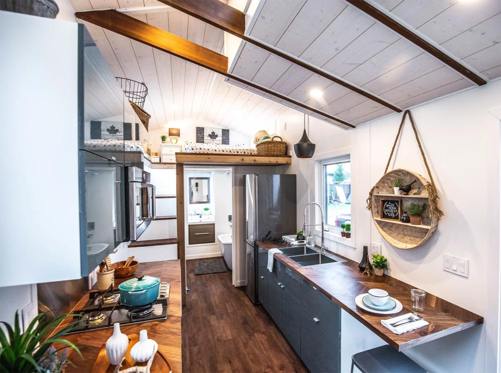 Eating Area - Coastal Escape by Sunshine Tiny Homes