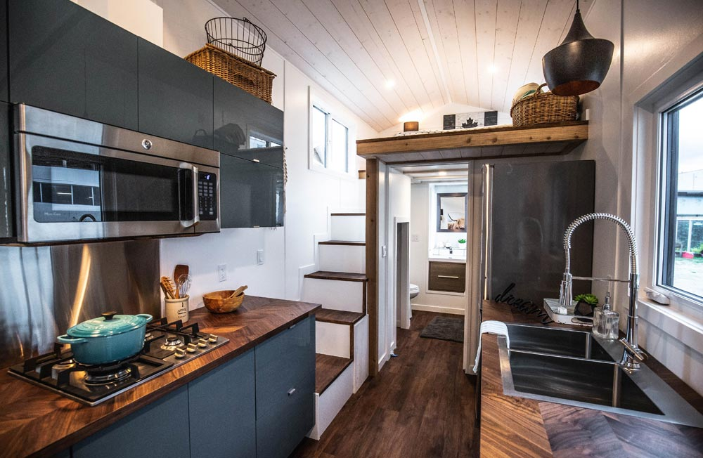 Kitchen Sink - Coastal Escape by Sunshine Tiny Homes